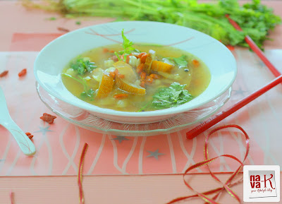 how to cook old cucumber soup