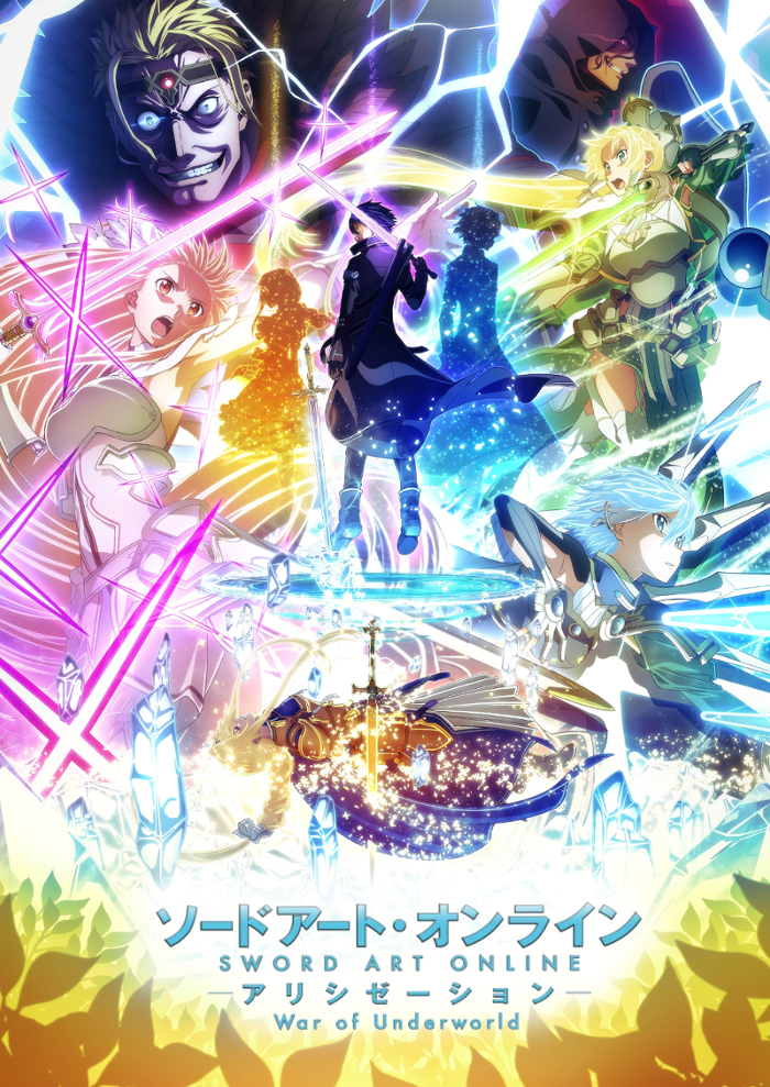 Póster del anime Sword Art Online: Alicization -War of Underworld-