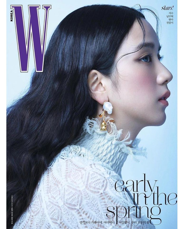 Jisoo for W Korea February 2021