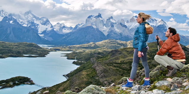 A view of Torres del Paine National Park