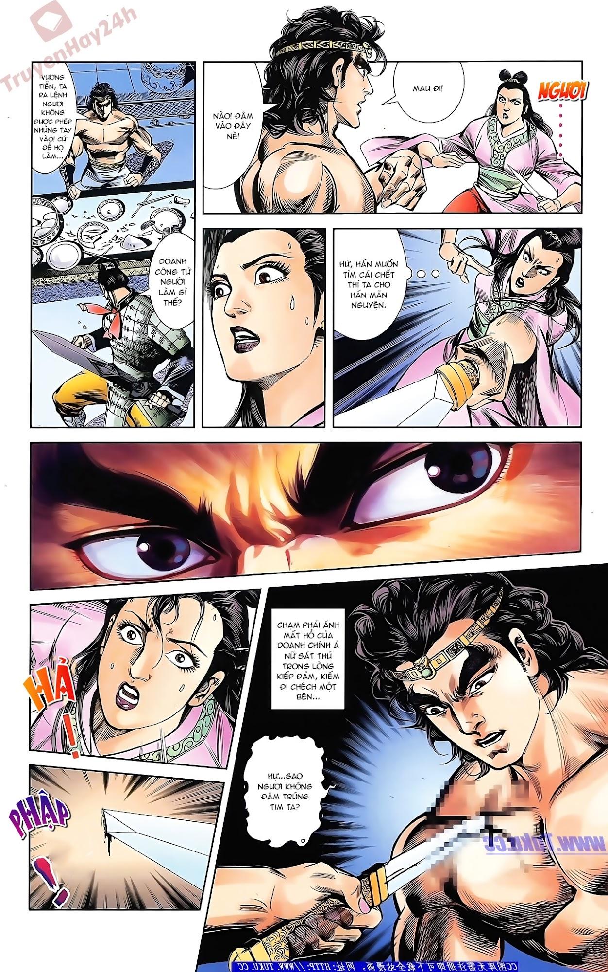 Tần Vương Doanh Chính chapter 43 trang 9