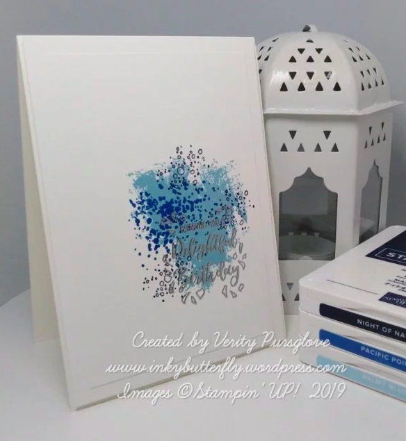 Nigezza Creates With Inkybutterfly Stampin Up Delightful day