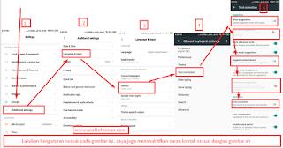 Cara Mematikan Auto Koreksi Teks Huruf Dan Kata Di Keyboard Android Kita