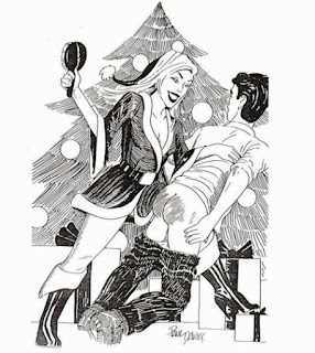spanking art that Professional Disciplinarian will love
