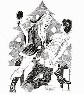 spanking art that Professional Disciplinarian will love