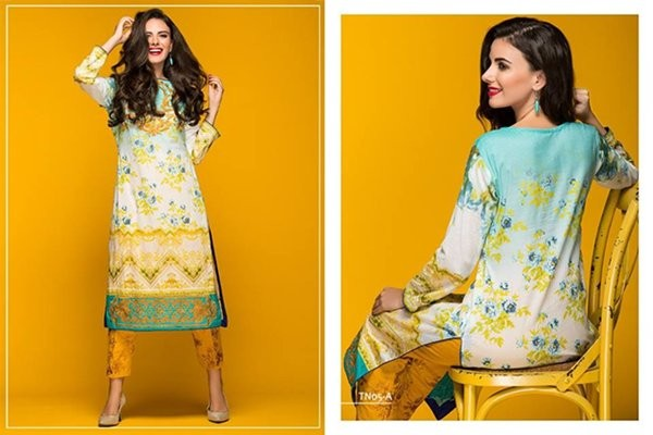 Latest Spring Lawn collection 2016 for women  by Al Zohaib Textile.Spring dresses are now available in stores so hurry up pick your favorite dress.they name this collection new sunshine collection you found flower in their prints.you found embroidered tunic pants pajamas in this collection.