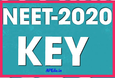 NEET 2020 QUESTION PAPER AND KEY
