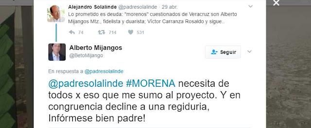 Integrante de Morena responde acusaciones de Padre Solalinde