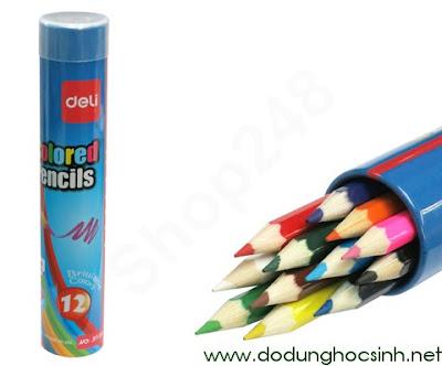 Bút chì màu Deli 37120 - 12 màu