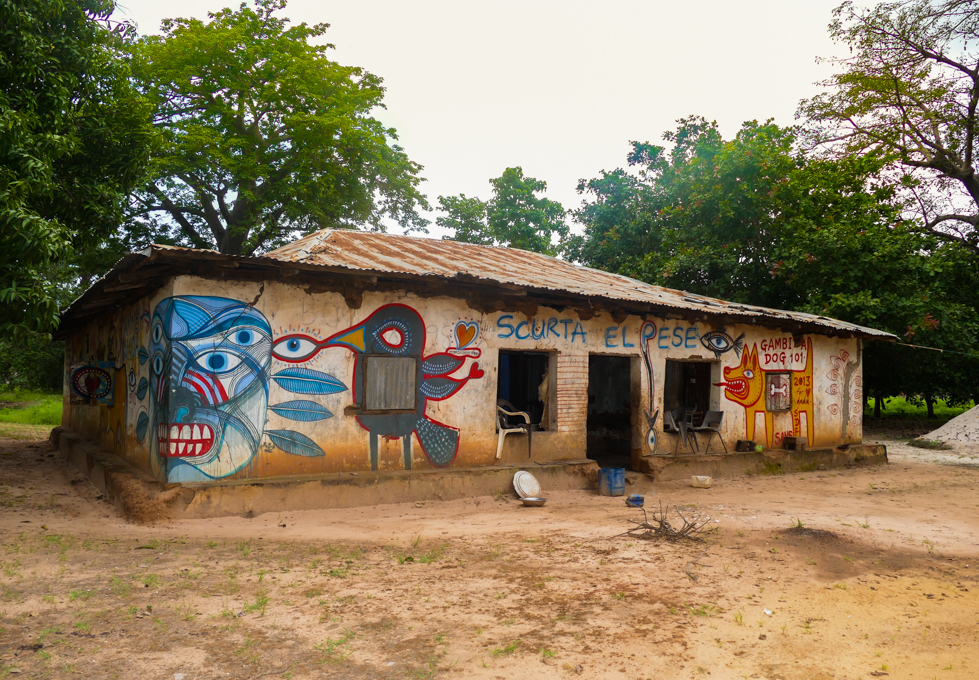 Street Art in Kubuneh Village