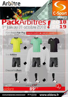 Packs Arbitre Eldera 2018