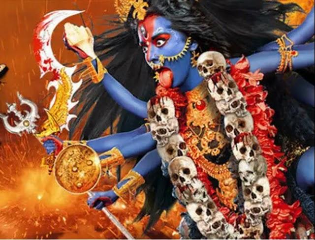 डॉ. राजेश पुरोहित की कविता -   आदिशक्ति देवी दुर्गा का सप्तम रूप कालरात्रि