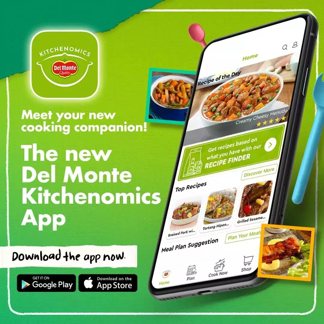 Del Monte Kitchenomics Mobile App