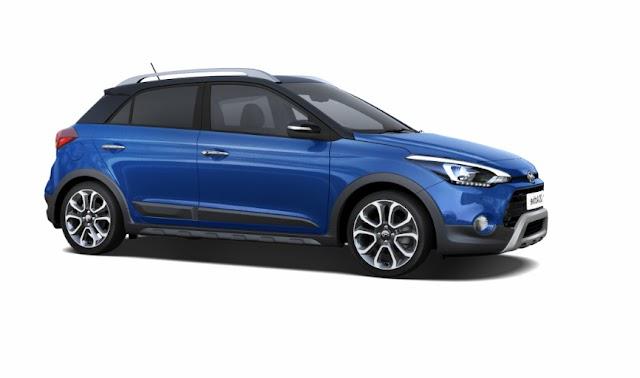 Hyundai active i20 get same extra Futures.