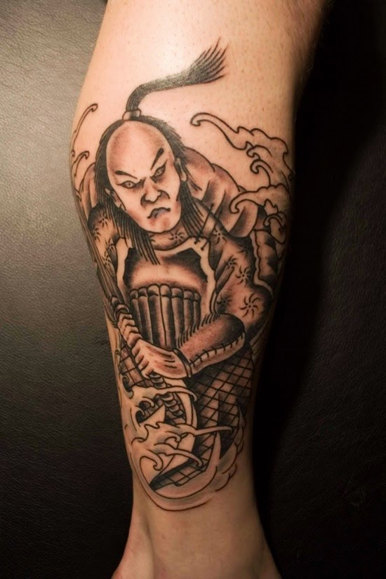 make well samurai tattoo