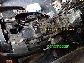 Cara pasang alarm motor Mega Pro Advance/Primus