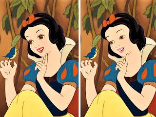 Como seriam os personagens de desenhos sem uma gota de maquiagem