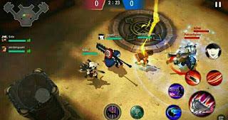 Mode permainan yang ada didalam game arena masters legend begins