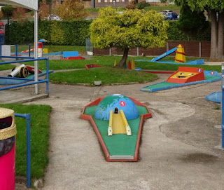 Crazy Golf at Playland in Stourport on Severn