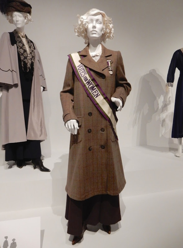 Helena Bonham Carter Suffragette movie costume