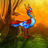 Wow Fantasy Egret Forest …