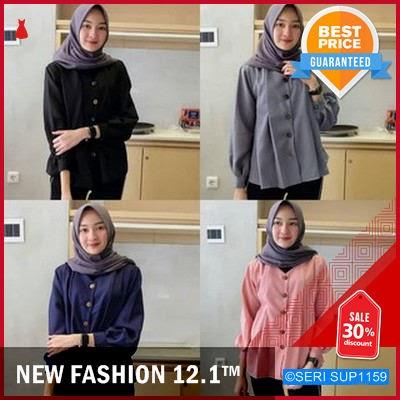 SUP1159B28 Baju Atasan Tunik Wanita Muslim Reva BMGShop