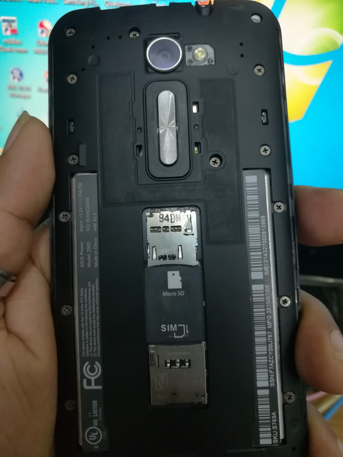 ASUS Z00D Flash File Firmware (SD Card File) - Clean Rom