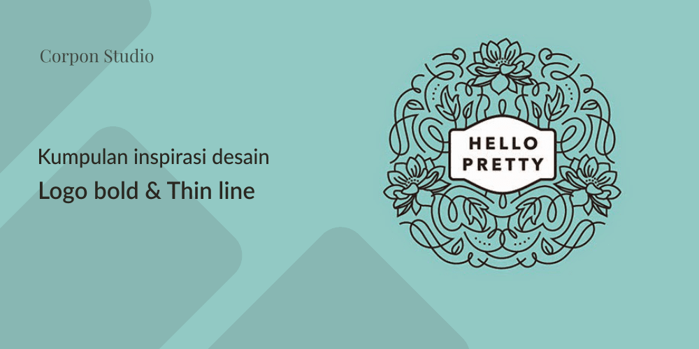 Kumpulan Contoh Inspirasi Desain Bold dan Thin Logo