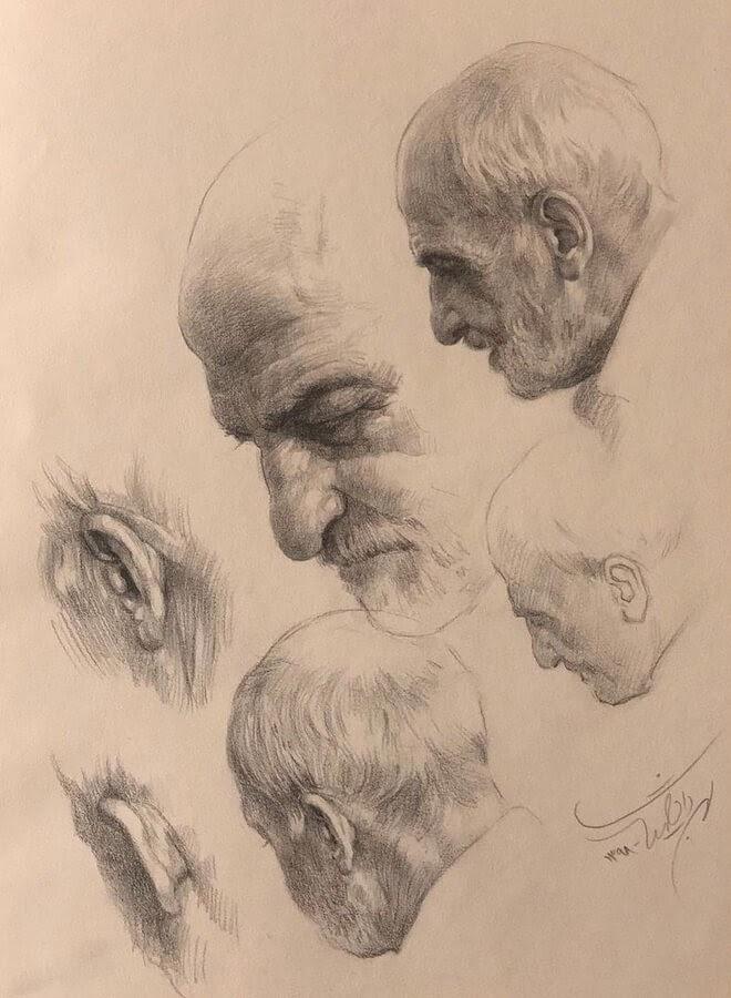 02-Evolution-of-a-drawing-study-Mehrdad-Jamshidi-www-designstack-co