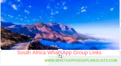Join South Africa WhatsApp Group Links List