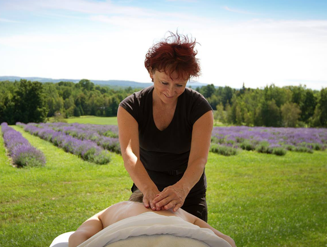 massage Bleu Lavande