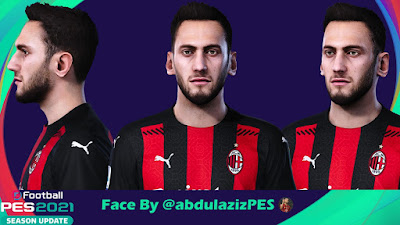 PES 2021 Faces Hakan Çalhanoğlu by Abdulaziz