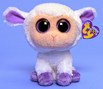 94eceb01b64 I am going to do the Beanie Boo of the Day. I am going to pick Clover the  lamb!