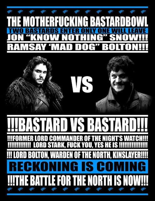 Bastard Bowl - Game of Thrones
