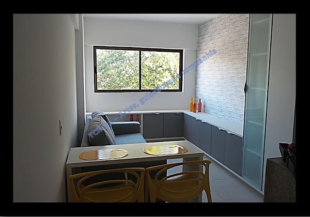 tecido na parede; reforma de casa