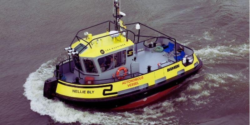 Sea Machines vai testar rebocador autônomo em viagem pela Dinamarca