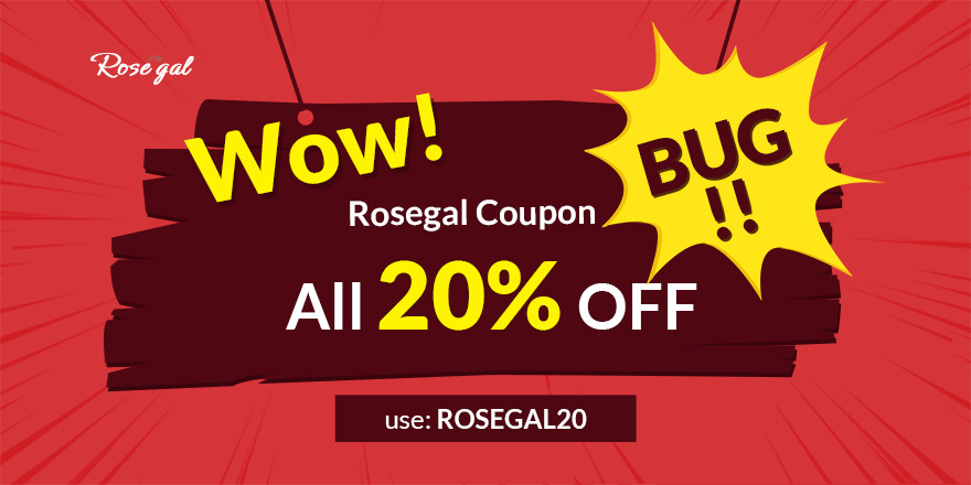 Wow! Rosegal coupon bug