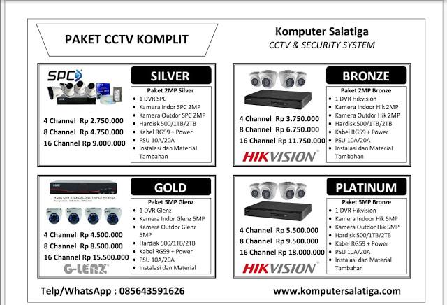 Menerima Jasa Pasang CCTV Semarang Termurah-085643591626