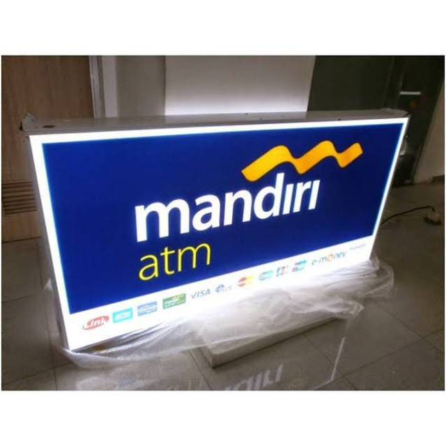 Neon Box Mandiri ATM