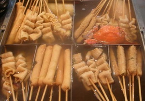 Odeng eomuk popular korean street foods