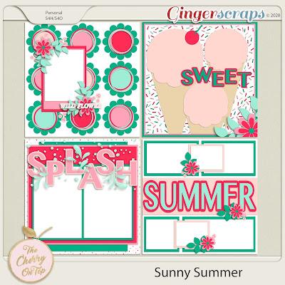 sunny summer templates