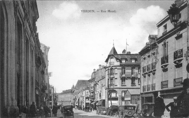 Verdun, rue Mazel