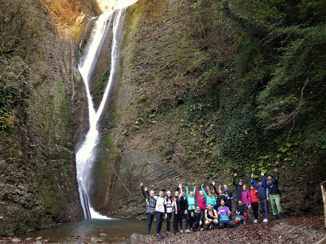 Ореховский водопад Сочи