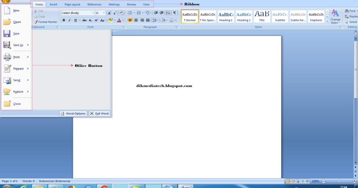 Cara Memformat Dokumen Pada Microsoft Word - Dokumen Pilihan