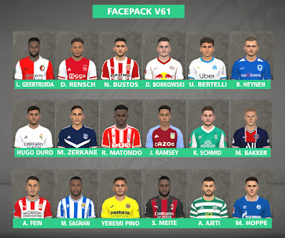 PES 2017 Facepack v61 by FR Facemaker