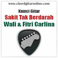 Chord Kunci Gitar Sakit Tak Berdarah Wali Feat. Fitri Carlina