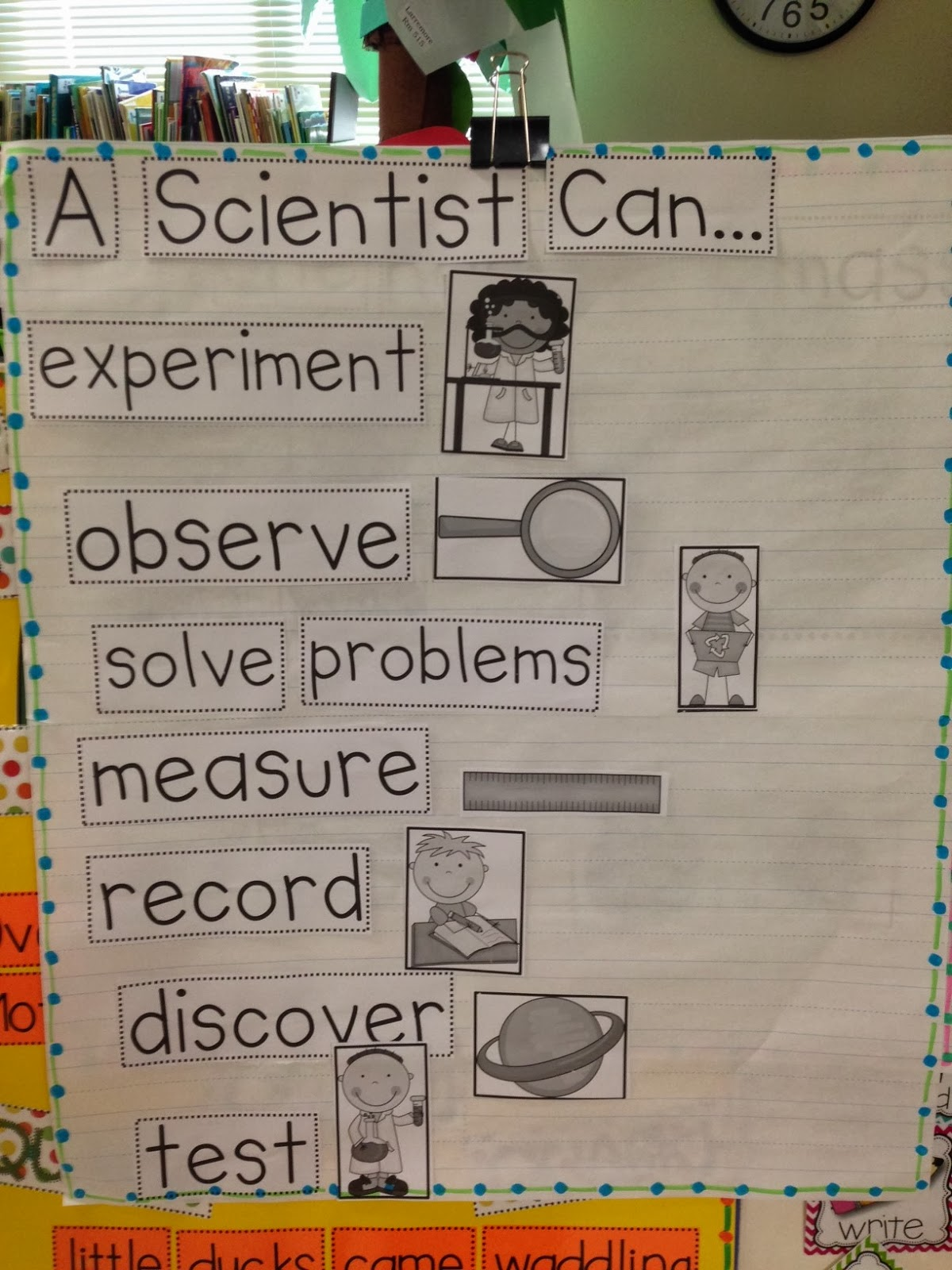 Chalk Talk A Kindergarten Blog What Can A Scientist Do