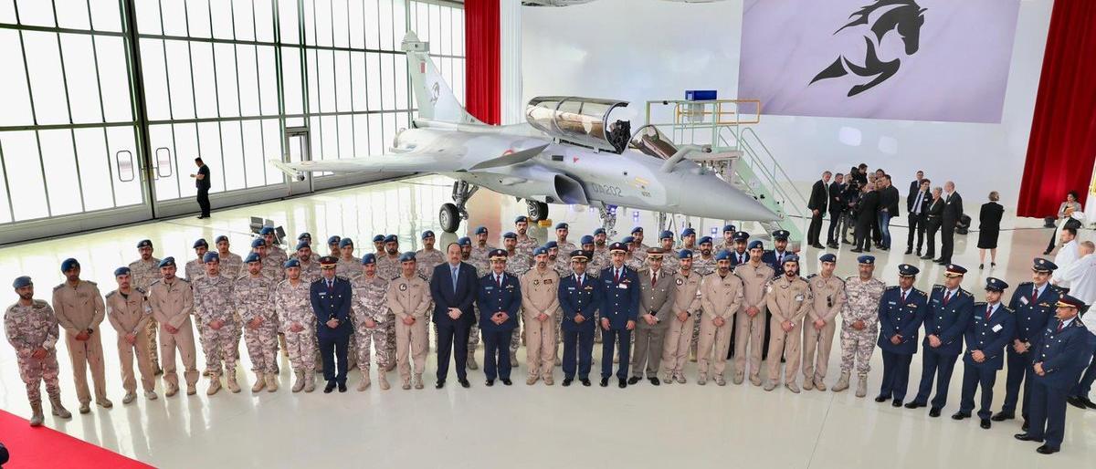 Dua Tahun Diboikot, Qatar Pamerkan Jet Tempur Rafale Al-Adiyat