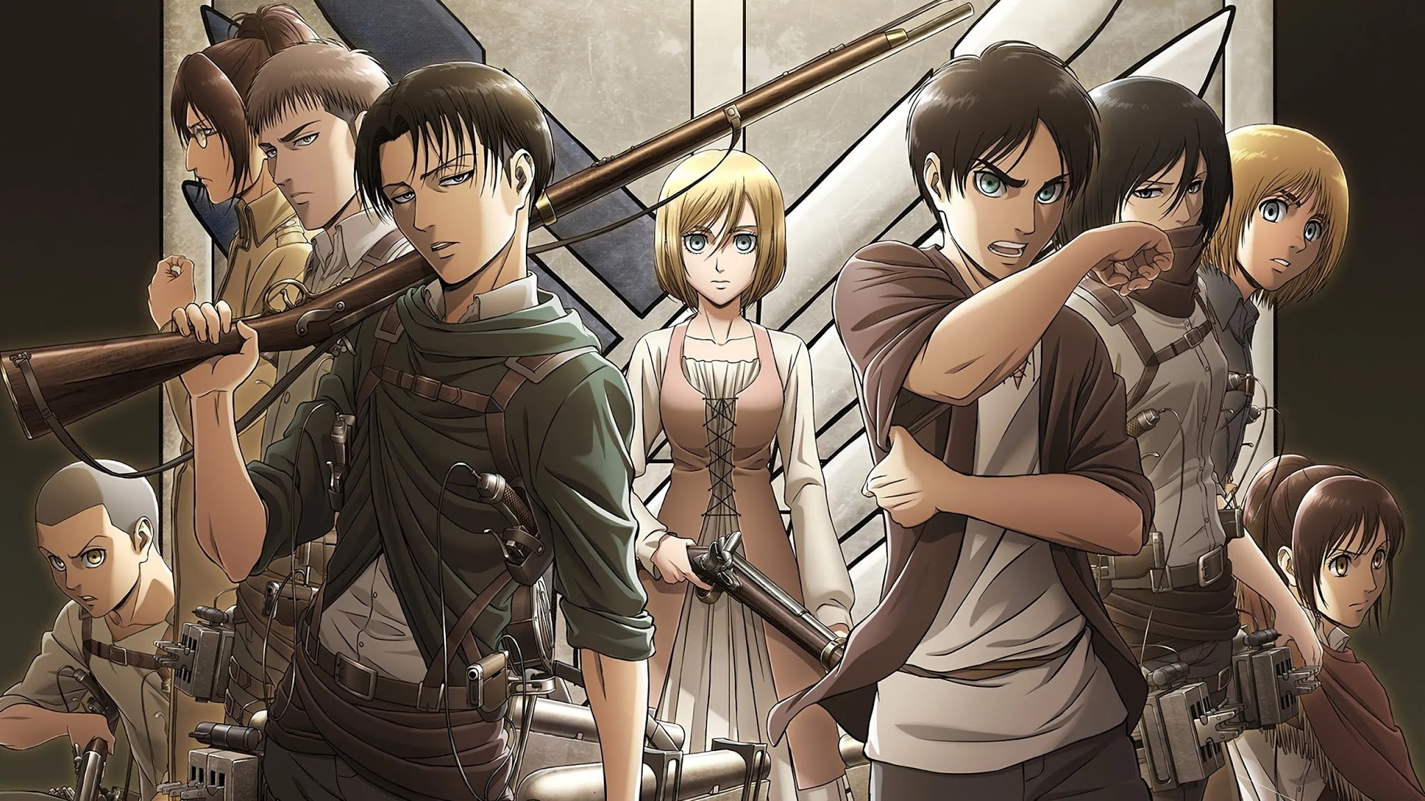 Shingeki no Kyojin Season 3 Part 2 wallpaper