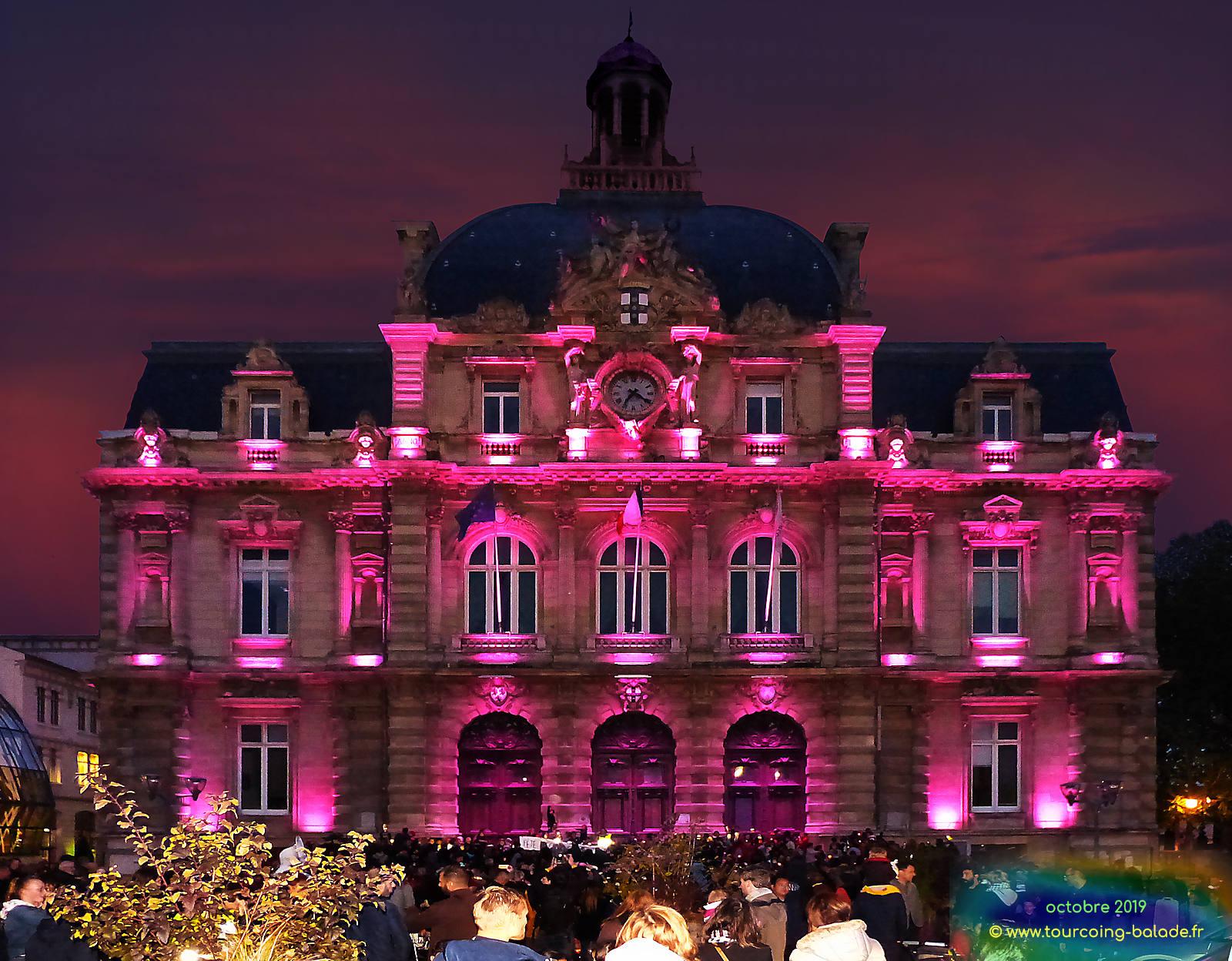 Hôtel de Ville Tourcoing - Nuit Allumoirs 2019